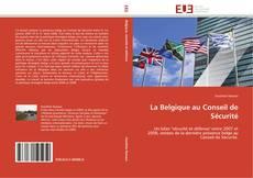 Обложка La Belgique au Conseil de Sécurité