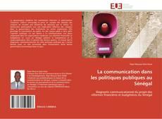 Borítókép a  La communication dans les politiques publiques au Sénégal - hoz