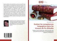 Capa do livro de Evaluer les compétences langagières dans les travaux de fin d'études