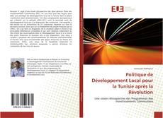 Portada del libro de Politique de Développement Local pour la Tunisie après la Révolution