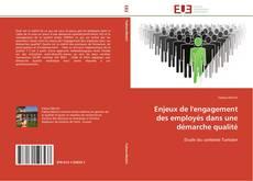Bookcover of Enjeux de l'engagement des employés dans une démarche qualité