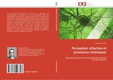 Bookcover of Perception olfactive et processus mnésiques