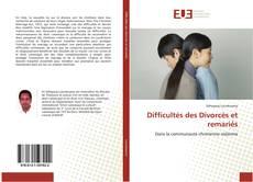 Обложка Difficultés des Divorcés et remariés