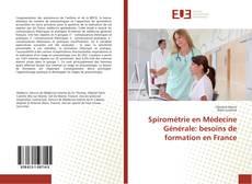 Portada del libro de Spirométrie en Médecine Générale: besoins de formation en France