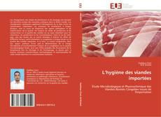 Bookcover of L'hygiène des viandes importées