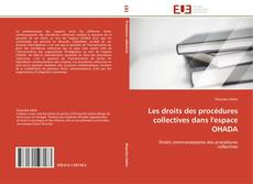 Copertina di Les droits des procédures collectives dans l'espace OHADA