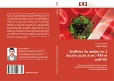 Portada del libro de Synthèse de molécules à double activité anti-PAF et anti-VIH