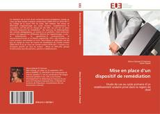 Couverture de Mise en place d'un dispositif de remédiation
