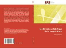 Modélisation statistique de la langue Arabe kitap kapağı