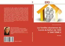 Les familles alsaciennes du Comté de Belfort de 1650 à 1840 TOME II的封面