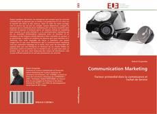 Portada del libro de Communication Marketing