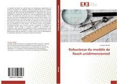 Borítókép a  Robustesse du modèle  de Rasch unidimensionnel - hoz