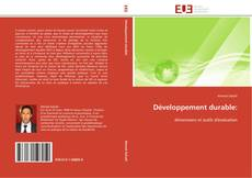 Bookcover of Développement durable: