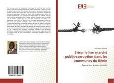 Bookcover of Briser le lien marché public-corruption dans les communes du Bénin