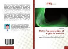Capa do livro de Matrix Representations of Algebraic Varieties