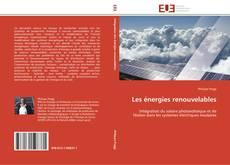 Bookcover of Les énergies renouvelables