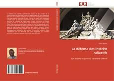 Capa do livro de La défense des intérêts collectifs