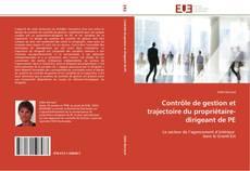Buchcover von Contrôle de gestion et trajectoire du propriétaire-dirigeant de PE