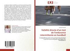 Bookcover of Validité directe d'un test de l'endurance intermittente en handball