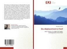 Buchcover von Du déplacement à l'exil