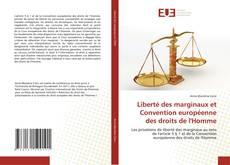 Portada del libro de Liberté des marginaux et Convention européenne des droits de l'Homme