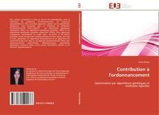 Capa do livro de Contribution à l'ordonnancement