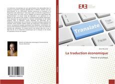 La traduction économique kitap kapağı