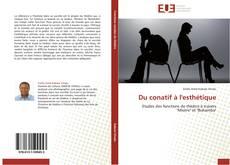 Buchcover von Du conatif à l'esthétique