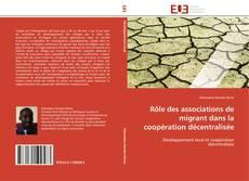 Portada del libro de Rôle des associations de migrant dans la coopération décentralisée