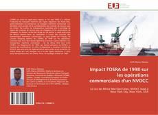Bookcover of Impact l'OSRA de 1998 sur les opérations commerciales d'un NVOCC