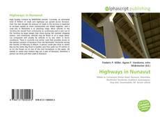 Bookcover of Highways in Nunavut