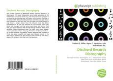 Capa do livro de Dischord Records Discography