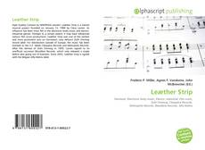 Bookcover of Leæther Strip