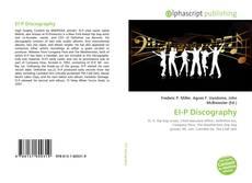 Buchcover von El-P Discography