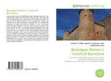 Buchcover von Berenguer Ramon I, Count of Barcelona