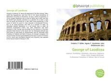 Bookcover of George of Laodicea