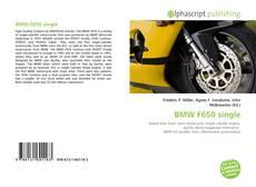 BMW F650 single的封面