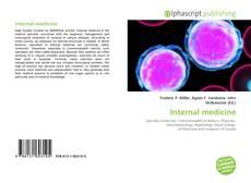 Обложка Internal medicine
