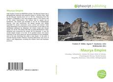 Bookcover of Maurya Empire