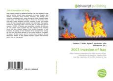 Borítókép a  2003 Invasion of Iraq - hoz