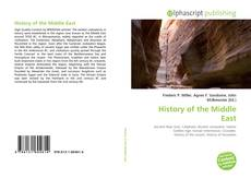 Bookcover of History of the Middle East