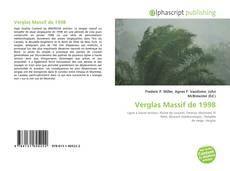 Capa do livro de Verglas Massif de 1998