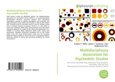 Bookcover of Multidisciplinary Association for Psychedelic Studies