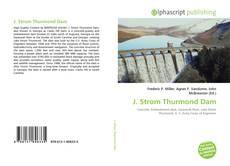 Borítókép a  J. Strom Thurmond Dam - hoz