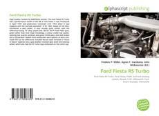 Portada del libro de Ford Fiesta RS Turbo