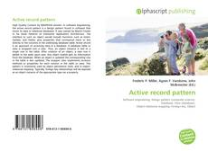 Bookcover of Active record pattern