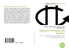 Обложка Signature Tornadique de Rotation
