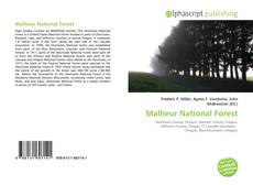 Bookcover of Malheur National Forest