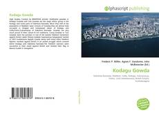 Bookcover of Kodagu Gowda