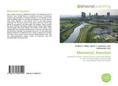 Capa do livro de Memorial, Houston